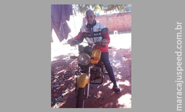 Acácio perdeu moto em blitz e tenta vaquinha para conseguir outra e tratar câncer