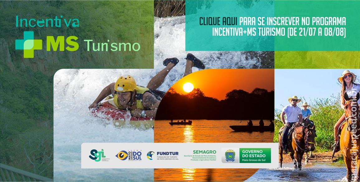 Maracaju: Inscrições para o Programa Incentiva + MS Turismo iniciam hoje (21) e vão até dia 08 de Agosto