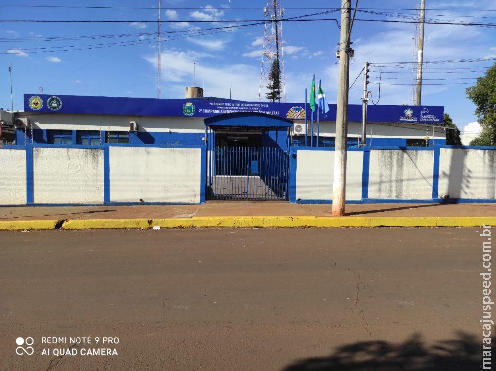 Polícia Militar de Maracaju detém indivíduo por furto