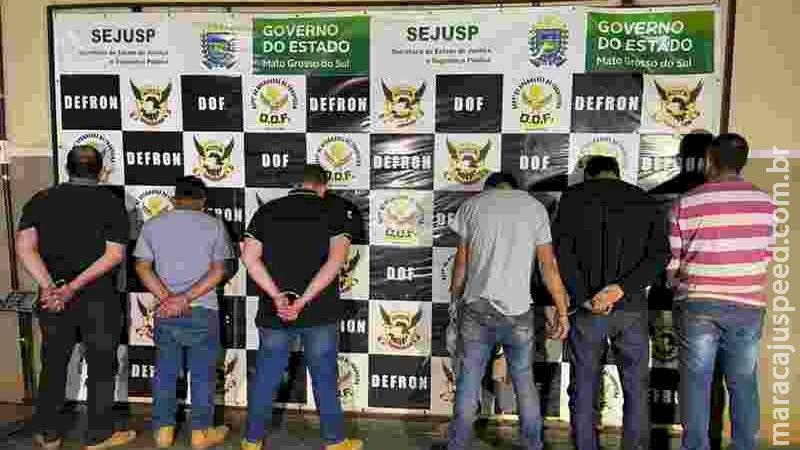 Traficantes usavam serralheria como entreposto de drogas na fronteira