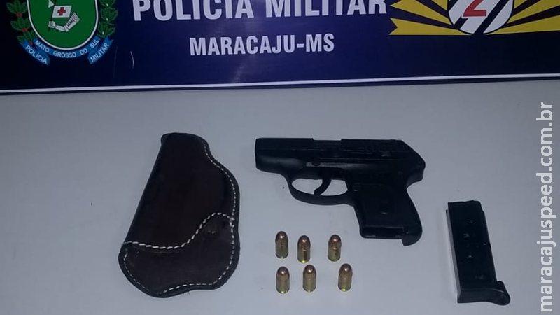 Homem é preso por violência doméstica e posse irregular de arma de fogo