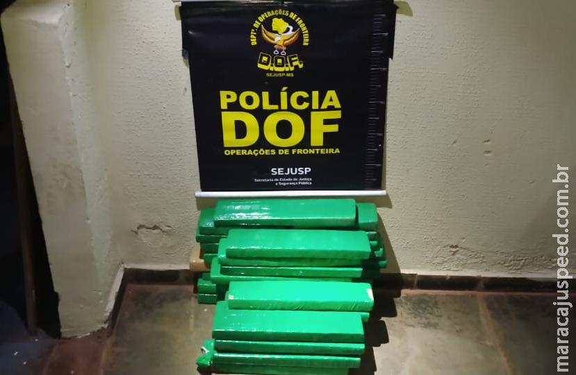Homem que vendia droga em Dourados foi preso pelo DOF durante a Operação Hórus