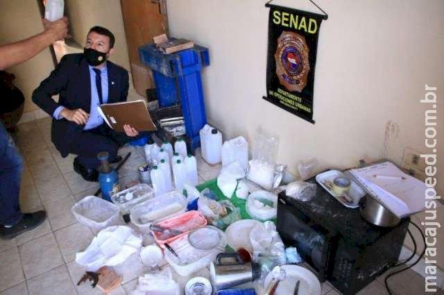 Para aumentar lucro, traficantes ampliam laboratórios de cocaína no Paraguai