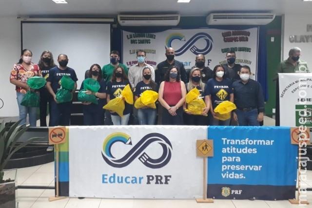Projeto pedagógico 'Educar PRF' é lançado em Caarapó