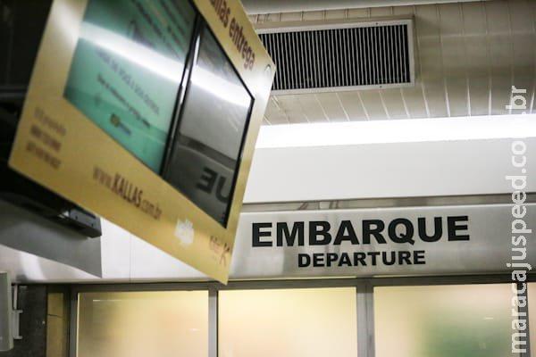 Aeroporto de Campo Grande opera normalmente nesta terça-feira