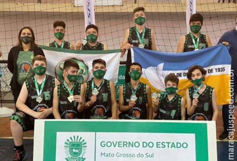 Dourados terá representantes na etapa nacional dos jogos escolares