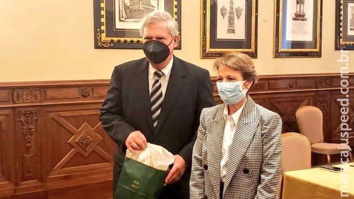 Em reunião na Itália, ministra Tereza Cristina se encontra com secretário da Agricultura dos EUA