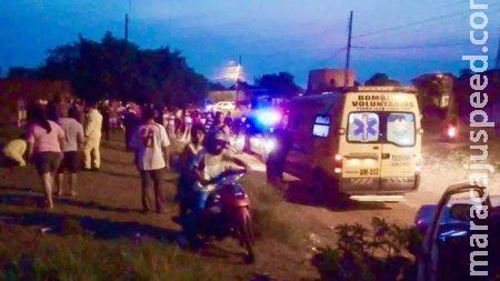 Irmãos são mortos a tiros e jogados em terreno baldio na fronteira