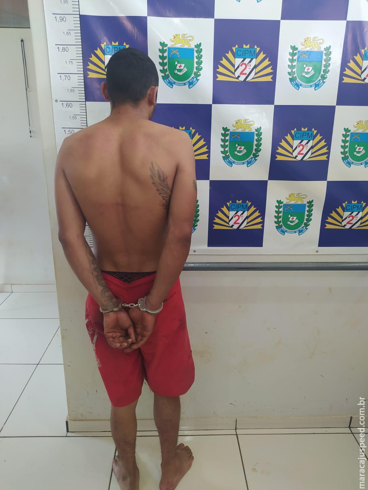 Maracaju: Polícia Militar detém indivíduo por furto ocorrido em escola