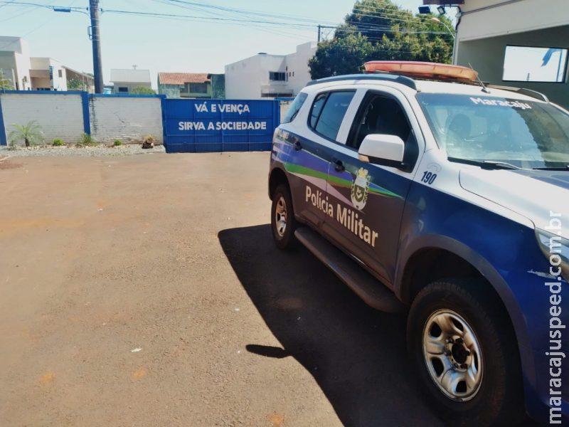 Maracaju: Polícia Militar detém indivíduo que estava ingerindo bebida alcoólica ao volante