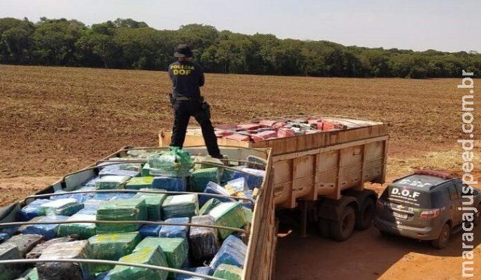 Operação Hórus apreende 963 toneladas de drogas no MS e causa prejuízo de R$ 1,8 bilhão ao crime organizado