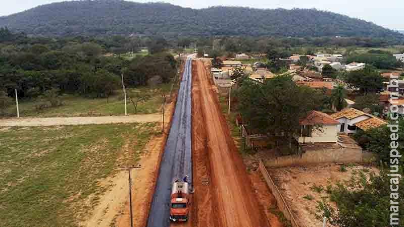 Pavimentação de rodovia em Bonito deve durar quase dois anos