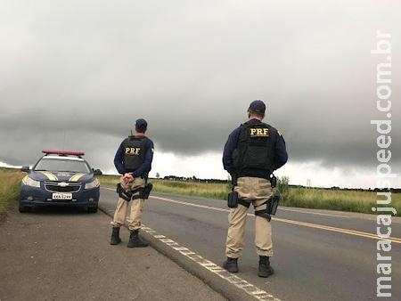 Técnico de Enfermagem é preso pela PRF com mais de 100kg de maconha que levaria de Sidrolândia para a Capital