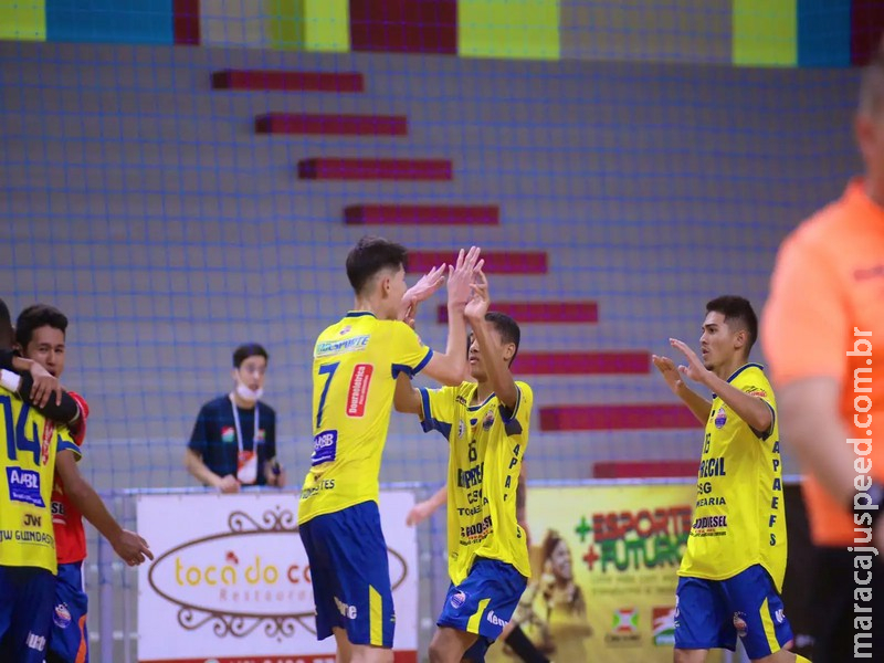 Time de MS empata e mantém liderança na Taça Brasil de Futsal