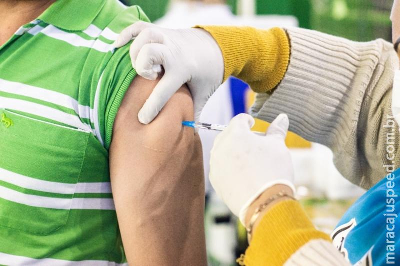 Vacina da Pfizer começa a ser aplicada em quem tomou 1ª dose de AstraZeneca em MS