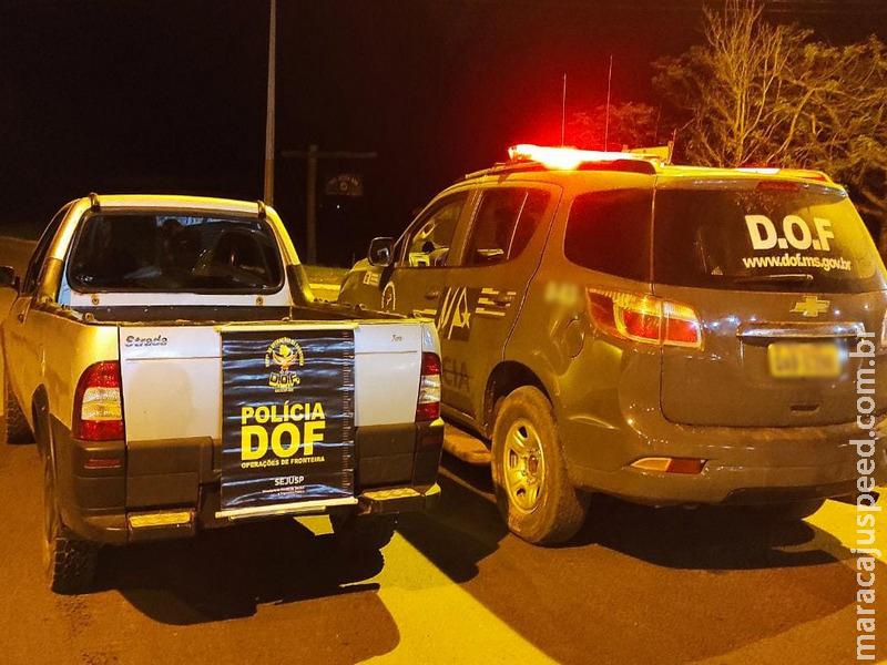 Veículo com registro de Furto no Paraná foi recuperado pelo DOF durante a Operação Hórus