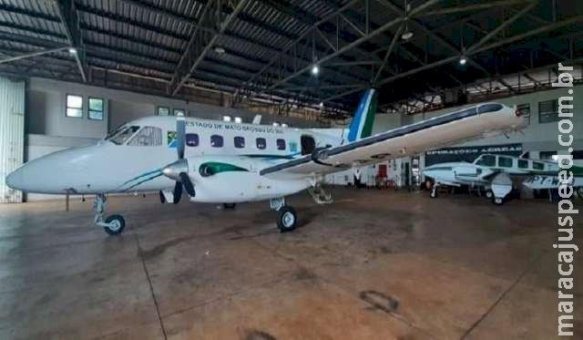 Além de aviões, secretaria leiloa máquinas e terreno em novembro