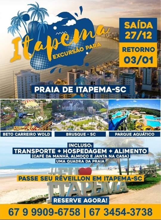 Itapema/SC - Excursão
